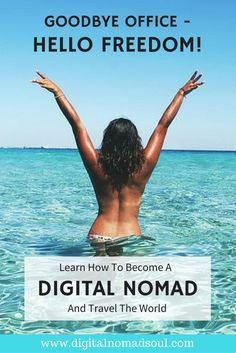 Are you tired of your 9-5 office job and would rather travel the world? Check out this blog and learn how to make money online with a remote job and get the chance to travel wherever you like, whenever you like. Be location-independent and enjoy your new freedom! Become a digital nomad!