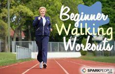 Beginner Walking Workouts via @SparkPeople