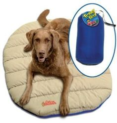 Pin It :-) Follow US :-))  zCamping.com is your Camping Product Gallery ;) CLICK IMAGE TWICE for Pricing and Info :) SEE A LARGER SELECTION of camping pet supplies at http://zcamping.com/category/camping-categories/camping-and-hiking-accessories/camping-pet-supplies/ - hunting, camping, pet supplies, camping gear, camping accessories -  Chuckit! Travel Bed « zCamping.com