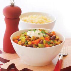 Curried vegie stew