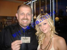 [http://www.GodfatherFilms.com] Paris Hilton told me I would film her wedding but you never know. I am still a little proud of myself for having the presence of mind to pose with my Hilton Diamond Card :)