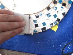 Crafted: Tutorial: Mosaic Mirror