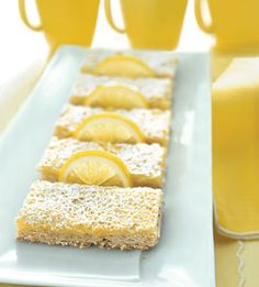 Lemon-Coconut Bars - Bon Appétit #engagementparty #forthebride #bride ...