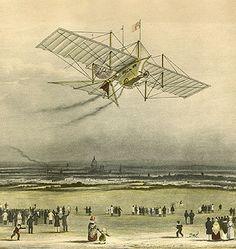 William Samuel Henson - The Aerial Steam Carriage- 1843