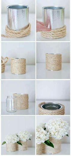 Reciclando latas