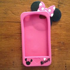 "Spotted while shopping on Poshmark: ""Iphone 4/4s minnie mouse case""! #poshmark #fashion #shopping #style #Disney #Accessories"