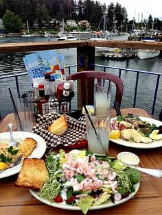 Tides Tavern Gig Harbor, Washington - One of the 13 best seafood restaurants in America per Travel and Leisure.