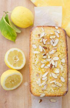 Lemon-Ricotta Cake with Almond Glaze