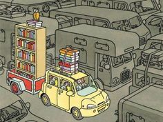How book lovers pack for a road trip