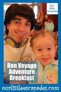 Ariel, Prince Eric, Rapunzel and Flynn Rider host the Bon Voyage Adventure Breakfast. It is the perfect breakfast for any Little Mermaid and Tangled fans. It takes place at Trattoria al Forno