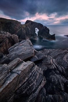 A sea stack of the Scottish coast - Ian Plant https://twitter.com/OpusLearning