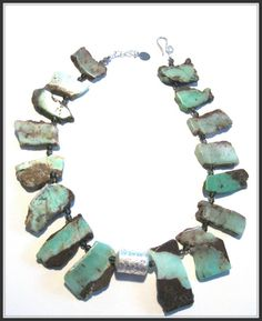 Caprice Designs Chrysoprase Faceted SmokyQuartz by Capricedesigns, $98.00