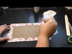 Twine Binding Mini Album Tutorial - YouTube