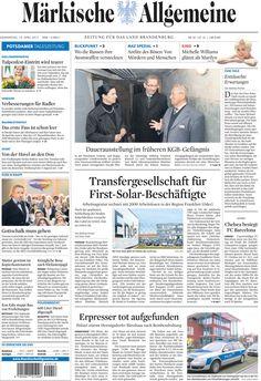 Donnerstag, 19.04.2012 - Im früheren KGB-Gefängnis in Potsdam » http://www.maerkischeallgemeine.de/cms/beitrag/12313114/63369/Die-neue-Daueraustellung-in-der-Potsdamer-Gedenk-und.html