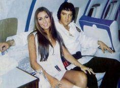 Linda Thompson Elvis Presley 1973 #ElvisPresley
