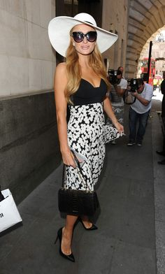 Paris Hilton candids  the Arts Club in Dover Street Mayfair in London July 9th 2015