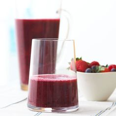 Get the most from your breakfast with this healthy, low-calorie Cherry-Berry Smoothie. More refreshing smoothie recipes: http://www.bhg.com/recipes/drinks/smoothies/smoothie-recipes/?socsrc=bhgpin052413cherrberrysmoothie=9