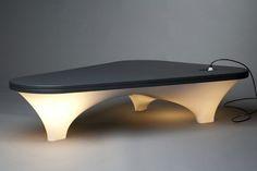 Static Plastic Table by Han Koning