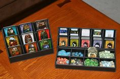 I have been looking for a way to make my arkham horror game easier to setup/take down. Maybe I'll try and make a nice box that does something like this to speed up setup!