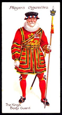 Cigarette Card - The Kings Body Guard | Player's Cigarettes … | Flickr