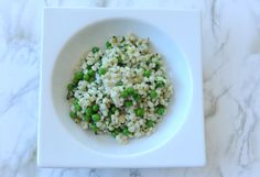 Spring Barley Salad Recipe with Green Peas and Mint