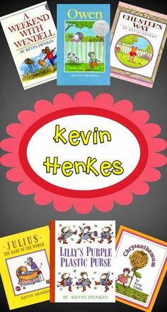 "Kevin Henkes books are great for teaching the strategy, ""making connections"", also great for an author study!"