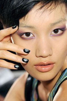 The Best Spring Nail Trends To Try Now: Flashes of Metallics