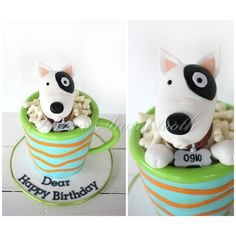 I Have Sweet Tooth Posted by Bubu Sweet 1 min ·     Bull Terrier in a mug #ihavesweettooth #fondant #3dcakes #doginamug #bullterrier   Ain't he the cutest puppy? I don't mind some sippin!