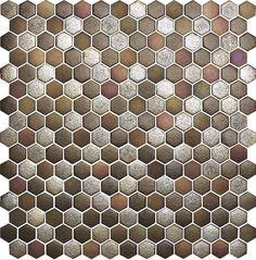 Obklad mozaika skleněná hnědá TEXTURAS MAGMA | Mozaiky.net