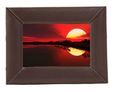 Leather Picture Frame, Chocolate Brown, 5 X 7 Inch   The warm tones of our Chocolate Leather will frame one of your favorite photographs perfectly!   http://www.amazon.com/dp/B00POJNQX0