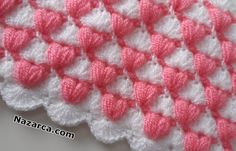 Learn to crochet amazing baby blanket. Very beautiful and attractive with modern design. After you done your work this will be your baby's favorite blanket. # modern crochet baby blanket crochet two color baby blanket pattern Crochet Motifs, Crochet Blanket Patterns, Baby Knitting Patterns, Baby Blanket Crochet, Knitting Stitches, Baby Patterns, Free Crochet, Youtube Crochet, Knitted Baby Clothes
