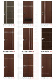 House Main Door Design, Flush Door Design, Single Door Design, Wooden Front Door Design, Home Door Design, Bedroom Door Design, Wood Front Doors, Interior Door Styles, Door Design Interior