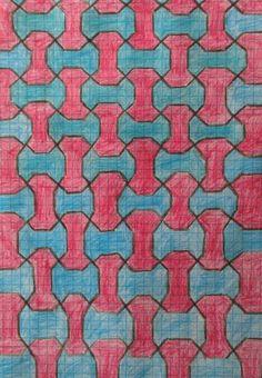 en cuarto lugar agrande la antes citada red modular y la coloree según el estilo que buscaba.