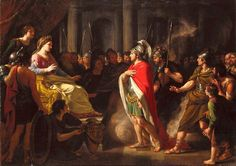 The Meeting of Dido and Aeneas by Nathaniel Dance Holland
