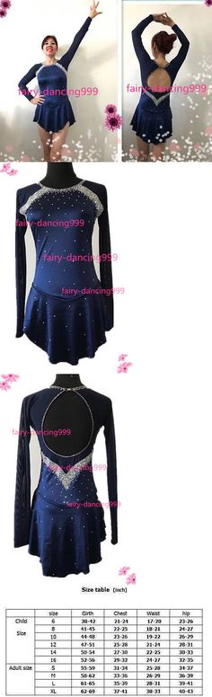 Skating Dresses-Girls 21226: Ice Figure Skating Dress Ice Skaitng Dress Customized Adult Size M In Store P245 -> BUY IT NOW ONLY: $49.99 on eBay!
