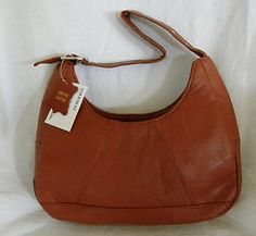 New Womens Soft New Zealand Lambskin Handbag Purse Shoulder Bag Brown Small