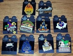 LOT OF 10  DISNEY PINS. DISNEY DESTINATIONS   N... - Exclusively on #priceabate #priceabateCollectibles! BUY IT NOW ONLY $34.99