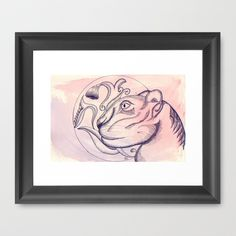 """No olvidemos"" Framed Art Print by Brave_Corona - $33.00"