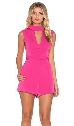 888c7a44acdf Finders Keepers Divine Eternal Playsuit in Rose Pink Jumpsuit