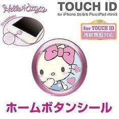 New Sanrio Hello Kitty Kawaii Kitty Face Button 3 pcs from Japan Cute