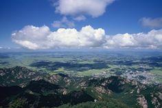 월출산 - 천황봉에서 바라본 영암평야(Mt. Wolchulsan)