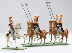 19th Century German Wooden Toys on Display