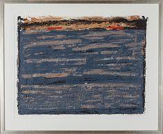 Reino Hietanen: Maisema, 1988, litografia, 53x68 cm, edition 75 - Bukowskis Market 2014