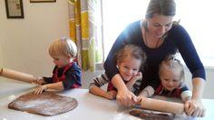 Backen mit Kinder Lebkuchen