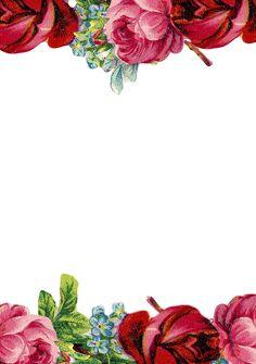 Vintage Paper Printable Free Planner Stickers 47 Ideas For 2019 Printable Planner Stickers, Printable Paper, Free Printables, Printable Vintage, Stationary Printable, Deco Floral, Motif Floral, Vintage Scrapbook, Scrapbook Paper