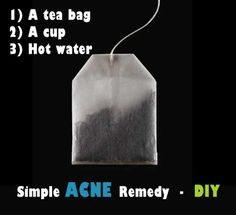 Black Tea to Get Rid of Spots and Acne