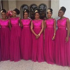 Lively design and undefeatable price make the long fuschia bridesmaids dress hot pink lace bridesmaid dresses 2017 Cheap Bridesmaid Dresses Long Hot Pink Lace Appliques Top A Line Chiffon Wedding Party Dresses pink bridesmaid dresses Fuschia Bridesmaid Dresses, Sparkly Bridesmaids, Fuschia Dress, African Bridesmaid Dresses, Lavender Bridesmaid, Vestidos Sexy, Wedding Party Dresses, Party Gowns, Tulle Wedding