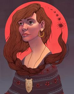 """Hannah Holmes is a 23 year old illustrator from the United States. She's a graduate from the Ringling College of Art and Design in Florida, but her bold and beautiful illustrations have been a lifelong passion:""""As a kid, I was driven to draw by the cartoons I would watch and the games I would play. I loved to create my own characters and worlds, and drawing was a really great way for my to get all my ideas out there… it wasn't until the start of high school that I realized I wanted to do it…"""