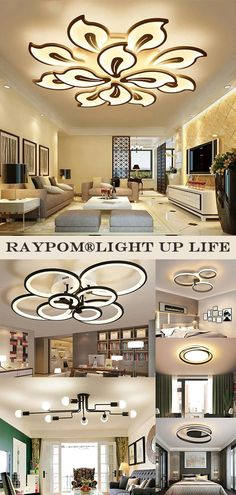 Design ceiling lights suitable for all occasions such as living room, bedroom, dining room, etc.We stand for helping you to create your comfortable and beautiful home, with our high quality,stylish and eligant lights. Recessed Ceiling Lights, Cool Gadgets To Buy, Home, Ceiling Lights, Home Look, Ceiling, Ceiling Lights Diy, Lights, Diy Lighting