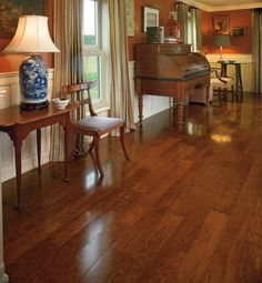 Hardwood | Rite Rug (Engineered - Oak - Cherry - Traditional) love this color for the floors